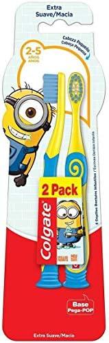 Escova Dental Colgate Minions 2 - 5 anos 2 un