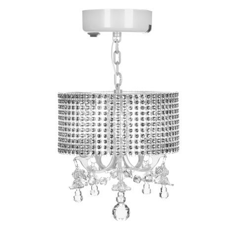 Darice LockerLookz Locker Gem Lamp - White - 1 Piece