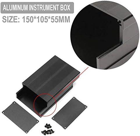 Landa tianrui 150 * 105 * 55mm Aluminium Instrument Box PCB Gehäuse DIY elektronischer Fall