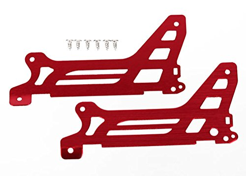 Traxxas 6327 Main Frame/Side Plate/Outer Red DR-1 ...