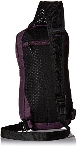 Pacsafe Venturesafe X sling pack Plum euNat