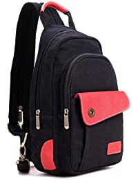 Girls' Canvas School Backpack Daypack