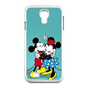 Samsung Galaxy S4 9500 Cell Phone Case White Minnie Mouse CIQ Hard Plastic Phone Case