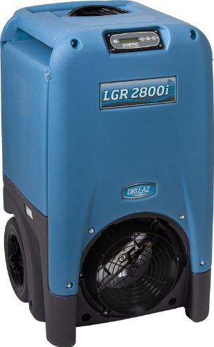 Dri-Eaz F410 LGR 2800i 30-gallon Portable Refrigerant Dehumidifier, High-Heat Operation by Dri-Eaz