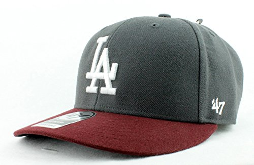 fed6d4ccfe7 Los Angeles Dodgers Hat MLB Authentic  47 (Forty Seven) Brand Bullpen MVP  Slightly Structured Velcroback Baseball Cap Adult Men   Women 85% Acrylic  15% Wool ...