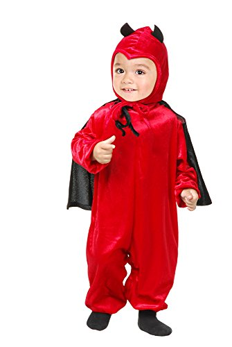Charades Darling Devil Baby/Toddler Costume, Toddler