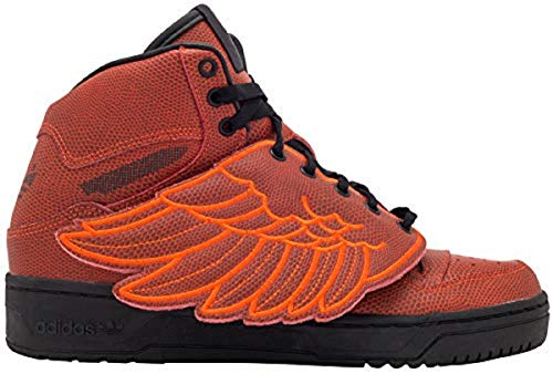 adidas Jeremy Scott Wings Bball Mens in Red/Red, ()