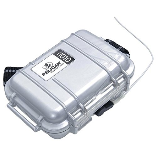 Pelican i1010 Waterproof Case for iPod (Silver)