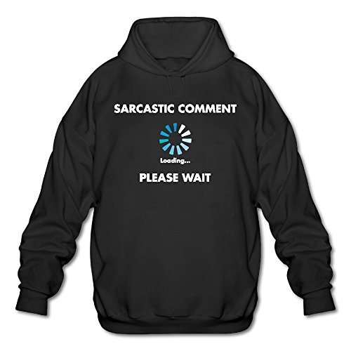 Men's Sarcastic Comment Loading Fashion Hoodies