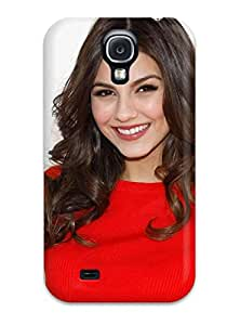 Durable Protector Case Cover With Victoria Justice Hot Design For Galaxy S4