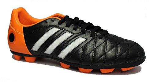Adidas TRX HG J - Scarpa sportiva da calcio per bambino, colore: Nero/Arancio