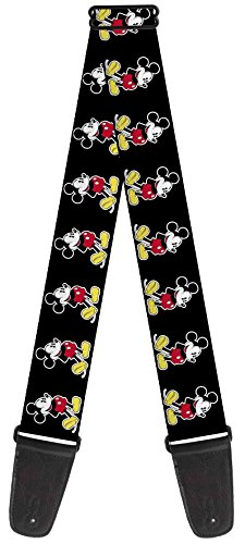 [Walt Disney Movies TV Shows Classic Mickey Mouse Guitar Strap] (Disney Group Costumes Ideas)