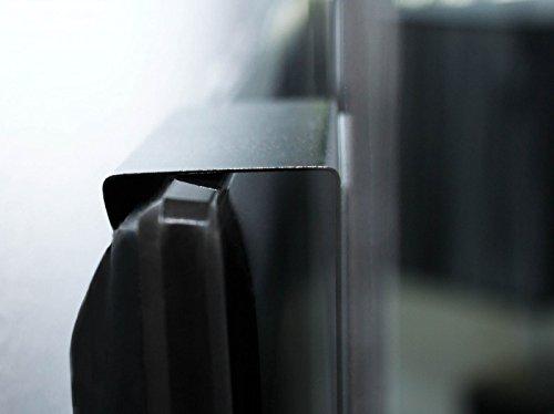 Memoboard mit Motiv Gr/ünes Holz Design Magnettafel von banjado Magnetwand wei/ß aus Metall rund Pinnwand magnetisch 47cm /Ø