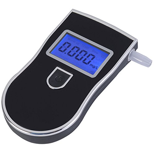 E-Bro ®LCD Digital Police Breath Alcohol Tester Analyzer Detector Breathalyzer Advanced (Alcohol Tester Detector)