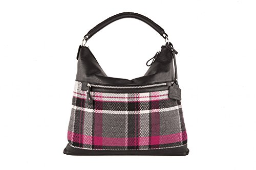 Anna Cecere - Borsa in lana con rifiniture in pelle - Made In Italy - Donna