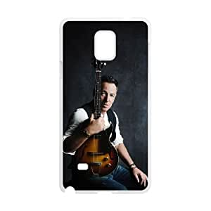 Samsung Galaxy Note 4 Cell Phone Case White Bruce Springsteen six
