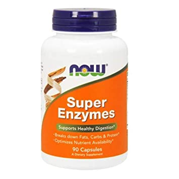 Amazon.com: Now Foods Super Enzymes - 90 Capsules 4 Pack: Health ...