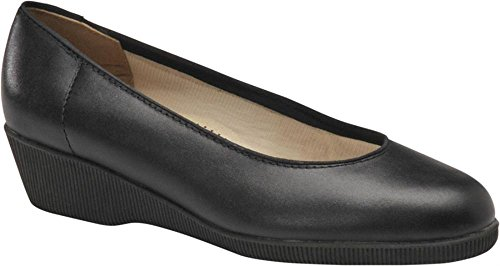softspots Stephanie Women's Slip On 5.5 B(M) US Black -
