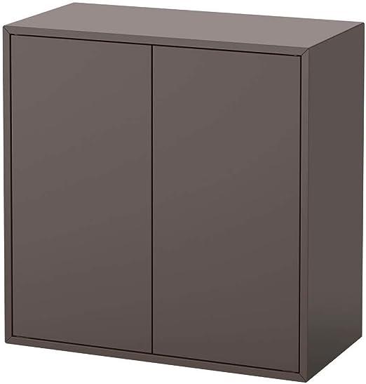 IKEA ASIA EKET - Armario con 2 Puertas y 1 Estante, Color Gris ...