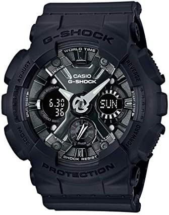 Buy Casio G-Shock S-Series Analog-Digital Black Dial Women s Watch -  GMA-S120MF-1ADR (G730) Online at Low Prices in India - Amazon.in b33f0093fc