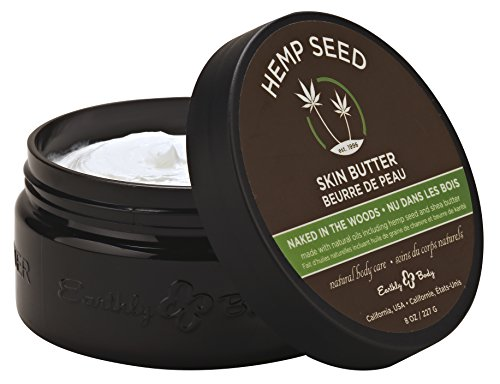 Earthly Body Skin Butter, Naked In The Woods, 8 Ounce ()
