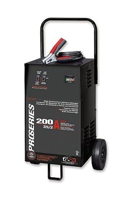 Schumacher PSW-2035 DSR ProSeries 200/35/2 Amp 12 Volt Manual Wheel Battery Charger/Starter