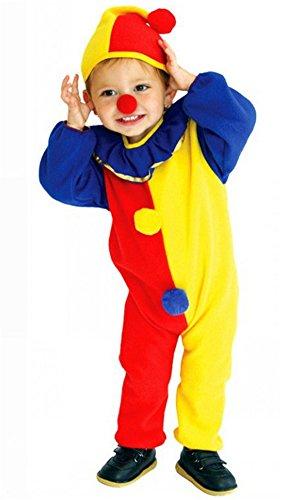 Unisex-child Halloween Costumes Clown Suit Performance Clothing Kids Cosplay (Medium)