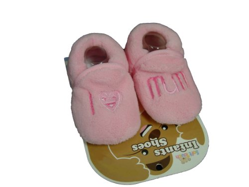 I love Mum Soft Touch Kinder Pink Shoes 0