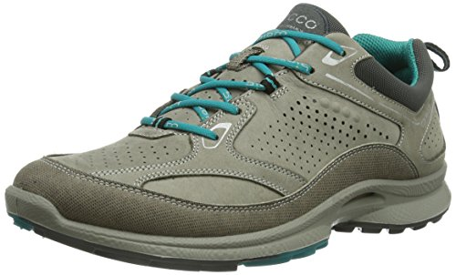 ECCO Women's Biom Ultra Plus Fashion Sneaker,Warm Grey/Fanfare,41 EU/10-10.5 M US