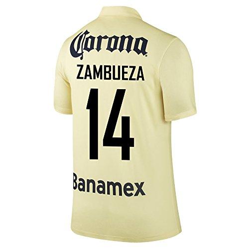 SAMBUEZA #14 Club America Home Jersey 2014-15 YOUTH. (YXL)