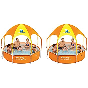 Amazon.com: Bestway - Piscina y toldo para niños de 7.9 x ...