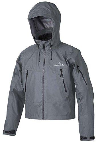 アングラ?ズデザイン (Anglers Design) ADR-13 얼 티 메이 트 웨 딩 그레인 재킷 메탈 M. / Anglers Design ADR-13 Ultimate Wading Rain Jacket Gunmetal M.