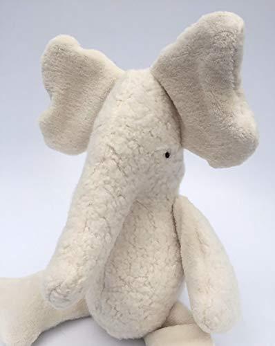 Eco Organic Natural Elephant Doll Stuffed Animal Plush Toy / Eco Organic Natural Elephant Doll Stuffed Animal Plush Toy