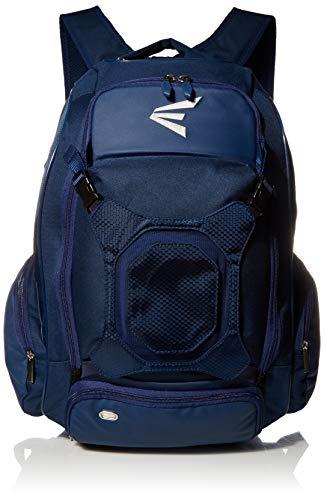 EASTON WALK-OFF IV Bat & Equipment Backpack Bag | Baseball Softball | 2020 | Navy | 2 Bat Sleeves | Vented Shoe Pocket | External Helmet Holder | 2 Side Pockets | Valuables Pocket | Fence Hook