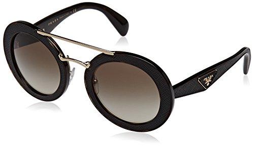 Prada Womens Sunglasses (PR 15S) Tortoise/Green Acetate - Non-Polarized - - Prada Specs