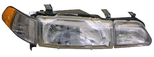 Depo 317-1112L-ASC Acura Integra Driver Side Replacement Headlight Assembly with Corner - Corner 93 Acura Integra
