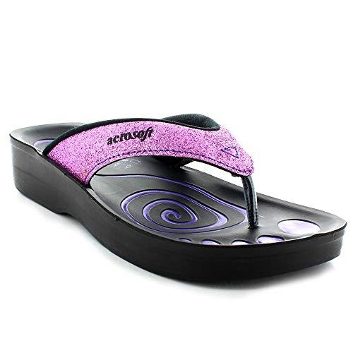 Aerosoft Womens Gliteratti Sandal, Adult