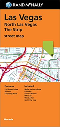 Folded Map: North Las Vegas The Strip Street Map: Rand ... on nevada on a us map, state of nevada map, san francisco map, lake mead nevada map, grand canyon nevada map, clark county nevada map, arizona map, pahrump nevada map, anthem nevada map, usa map, nevada cities map, reno map, henderson nevada map, columbus ohio map, phoenix map, united states map, laughlin nevada map, area 51 nevada map, california nevada map, mojave desert nevada map,