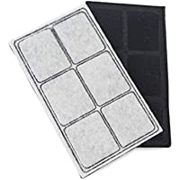 Replacement Charcoal Filters for PetSafe Drinkwell Original/Platinum/Big Dog/Multi-Tier/Outdoor Dog/Mini/Everflow/Zen/PAC00-13067 Pet Water Fountain