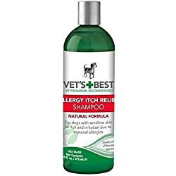 Vet's Best Allergy Itch Relief Dog Shampoo MegaPack 16 oz (Pack of 2)