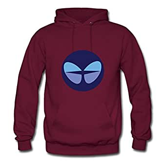 Vintage Butterfly And Painting Custom And Regular Hoody In Burgundy