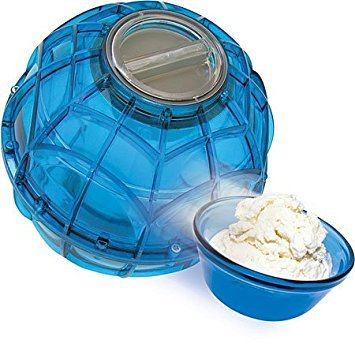 (Play and Freeze Ice Cream Maker Ball Blue)