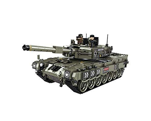 Keefe Panlos Leopard 2 Main Battle Tank Building Sets 632003(No Original Box,New in Sealed Bag)