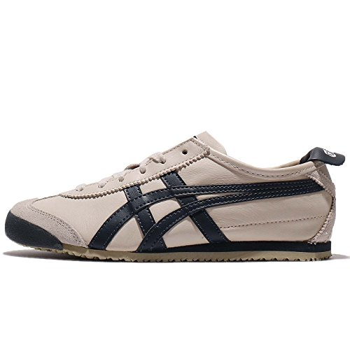 Asics Mens Mexico 66, Betulla / India Inchiostro / Latte, 26 Cm
