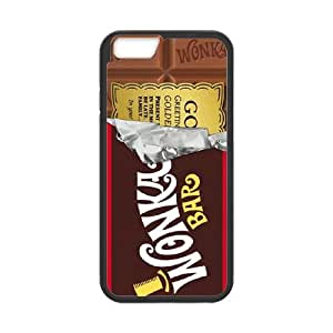 Willy Wonka Golden Ticket Chocolate Bar iPhone 6 Plus 5.5 Inch Cell Phone Case Black GY034302