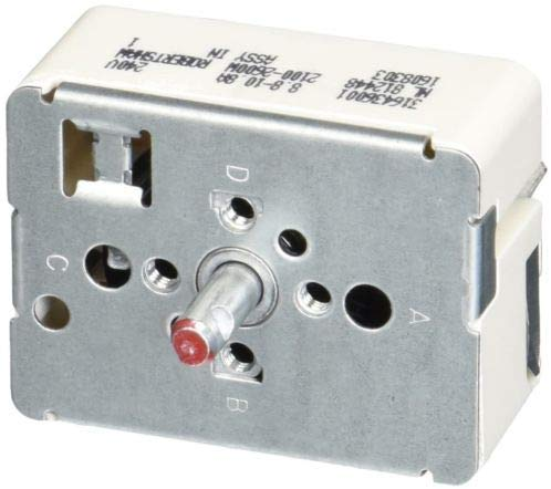 Surface Burner Infinite Switch for Frigidaire Kenmore Tappen 316436001