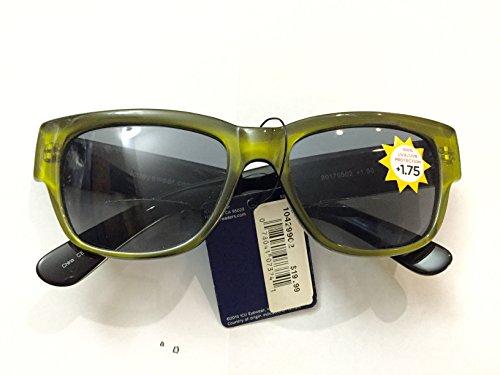 Dr. Dean Edell Bifocal Green Sun Reader - Bifocal Sunglasses Dr Edell Dean