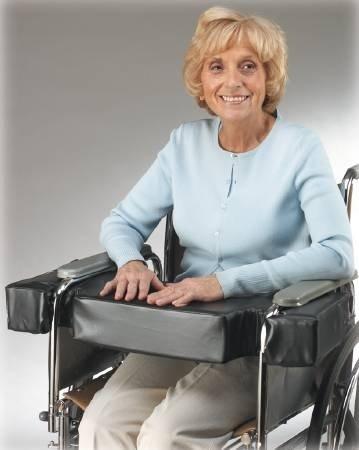 MCK70104300 - Skil-care Lap Cushion Skil-Care 16 X 18 X 4 Inch Foam - Wheelchair Lap Cushion