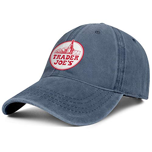 Mens Womens Trader-joes- Adjustable Retro Summer Hats Baseball Washed Dad Hat Cap ()