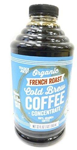 Trader Joe's Organic French Roast Cold Brew Coffee Concentrate - 32 Oz Plastic Bottle by Trader Joe's